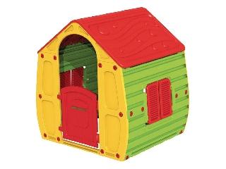 Starplast gyermek játszóház, sárga