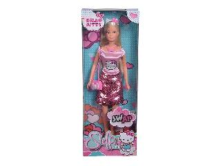 Stefi Love Hello Kitty ruhában flitteres szoknyában