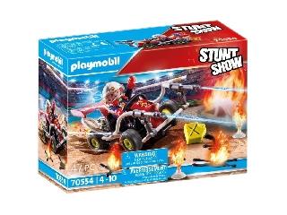Stunt show tűzoltó gokart