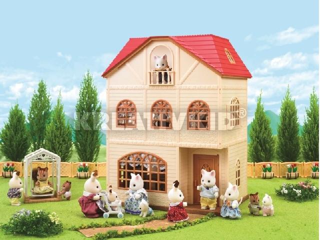 d721f31548da kapható olcsó - Sylvanian Families - Sylvanian 3 emeletes Mese Ház