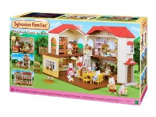 Sylvanian Families: piros tetős vidéki ház