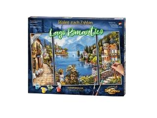 Számfestő: Lago romantico