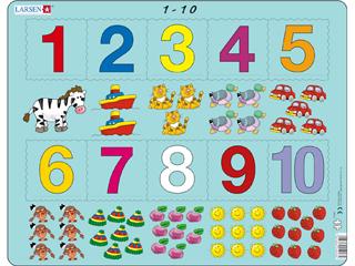 Matek - Számok 1-10 Ar3