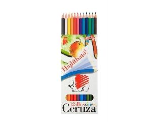Színes ceruza hajlékony 12 db-os Ico süni