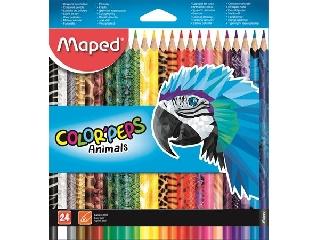 Colorpeps animals  háromszögletű színes ceruza , MAPED