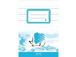 Szótárfüzet a/5 31-32 Ico süni