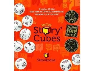 Sztorikocka (narancs) Story Cubes