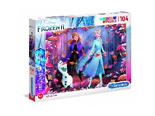 Szuper színes puzzle Jégvarázs 2 104 db-os