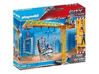 Playmobil: Távirányítós építkezési daru 70441