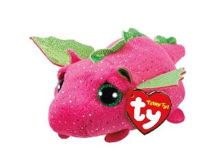 Teeny Ty DARBY rózsaszín sárkány plüss 10 cm