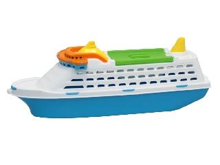 Tengerjáró utasszállító hajó - műanyag