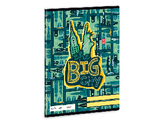 The Big City A/5 sima füzet 2032