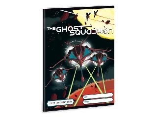 The Ghost Squadron A/5 kockás füzet 2732