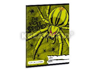 The Wolf Spider 2. oszt. vonalas A/5 füzet 1632