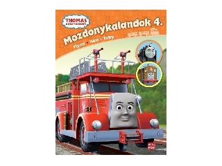 Thomas a gőzmozdony – Mozdonykalandok 4. - Flynn, Hiro, Toby