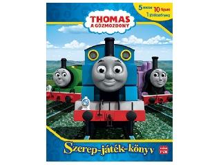Thomas a gőzmozdony - Szerep-játék-könyv figurákkal játékszőnyeggel