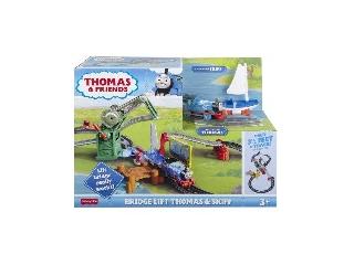 Thomas és barátai Hídemelő pálya Skiffel