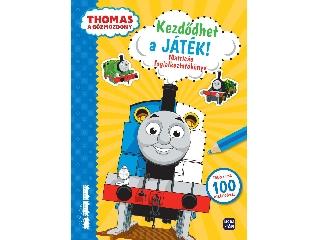 Thomas - Kezdődhet a játék!  - matricás foglalkoztató
