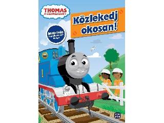 Thomas - Közlekedj okosan! - matricás foglalkoztató