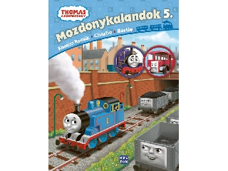 Thomas - Mozdonykalandok 5. - Komisz kocsik, Charlie és Bertie