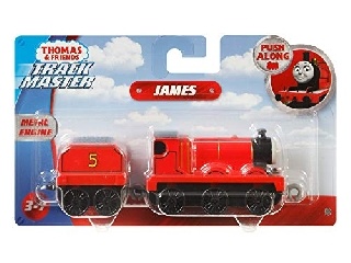 Thomas nagy mozdonyok James piros