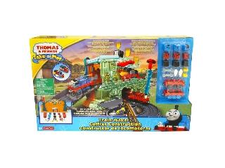 Thomas Take-N-Play vonatgyár játékszett