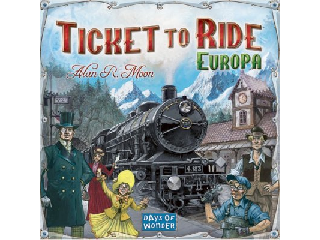 Ticket to Ride Európa