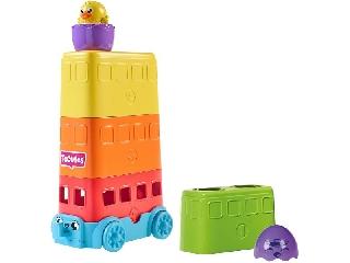 Tomy: Toomies Kukucska tojáskák emeletes busz