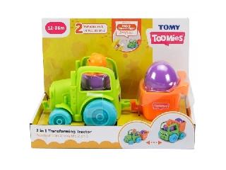 Tomy Toomies: 2 az 1-ben átalakítható traktor - zöld