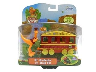 T-Rex Expressz: Kalauz dinó vasúti kocsival