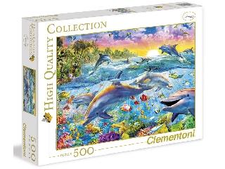 Trópusi delfinek 500 db-os puzzle