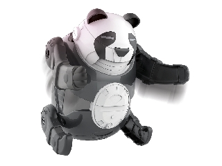 Tudomány és Játék - Guruló robot panda