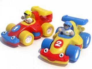 Turbo versenyautók