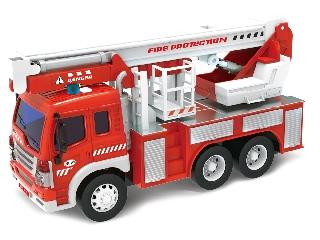 Tűzoltó autó - világít, hangot ad 1:16