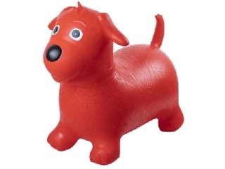 Ugráló piros kutya