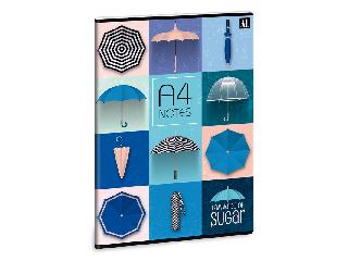 Umbrella füzet A/4 sima