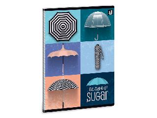 Umbrella füzet négyzethálós A/5