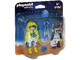 Űrhajós és robot Duo Pack