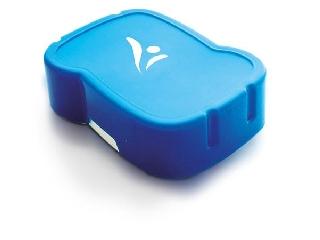 Uzsonnás doboz - higiénikus műanyagból kék