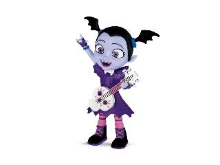 Vampirina gitárral