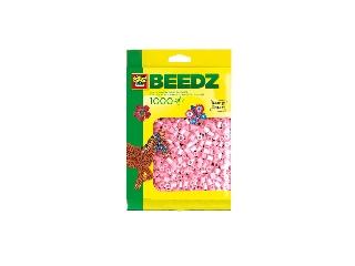 Vasalható gyöngy - 1000 db metál rózsaszín