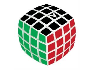 V-CUBE 4X4 versenykocka -fehér alapszín