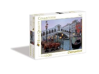 A velencei Rialto-híd 1500 db-os puzzle