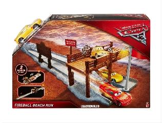 Verdák 3 - Villámvölgy kihívás játékszett - Fireball beach run