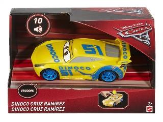 Verdák 3 világító kisautók - Dinoco Cruz Ramirez