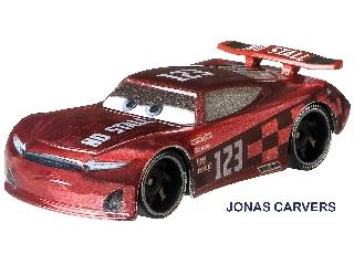 Verdák karakter kisautó Jonas Carvers