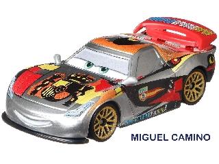 Verdák karakter kisautó Miguel Camino ezüst festéssel
