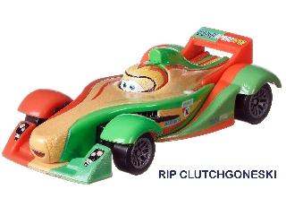 Verdák karakter kisautó RIP Clutchgoneski