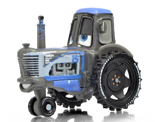 Verdák karakter kisautók Metal - Easy Idle Racing Tractor