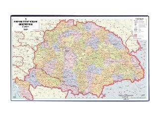 Victoria - Könyökalátét: A történelmi Magyarország